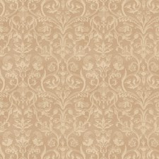 Linen Floral Drapery and Upholstery Fabric by Trend