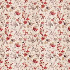 Poppy Floral Drapery and Upholstery Fabric by Trend