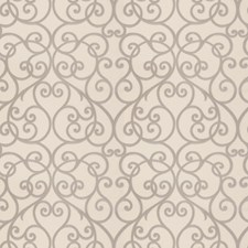 Limestone Scrollwork Drapery and Upholstery Fabric by Trend