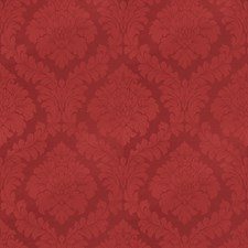 Red Damask Drapery and Upholstery Fabric by Trend