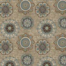 Cadet Floral Drapery and Upholstery Fabric by Fabricut