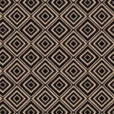 Onyx Geometric Drapery and Upholstery Fabric by Fabricut