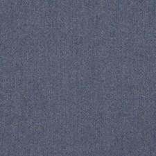 Navy Herringbone Drapery and Upholstery Fabric by Stroheim