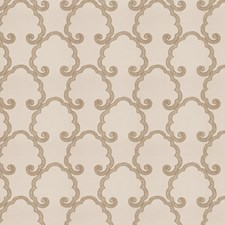 Fawn Embroidery Drapery and Upholstery Fabric by Fabricut