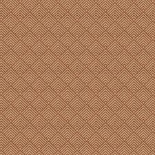 Chestnut Flamestitch Drapery and Upholstery Fabric by Fabricut