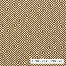 Teak Drapery and Upholstery Fabric by Schumacher