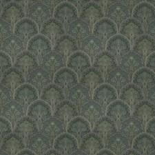 Malachite Flamestitch Drapery and Upholstery Fabric by Stroheim