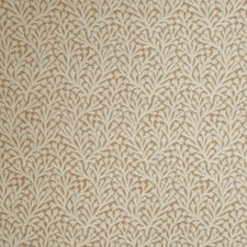 Pumpkin Leaves Drapery and Upholstery Fabric by Stroheim