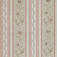 Rosewater Leaves Drapery and Upholstery Fabric by Stroheim