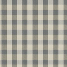 Delft Check Drapery and Upholstery Fabric by Stroheim