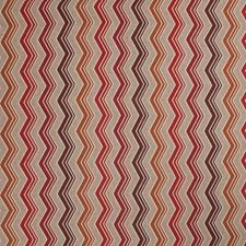 Paprika Geometric Drapery and Upholstery Fabric by Stroheim