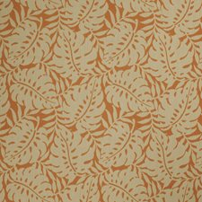 Topaz Leaves Drapery and Upholstery Fabric by Stroheim