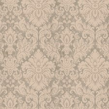 Glacier Blue Damask Drapery and Upholstery Fabric by Vervain