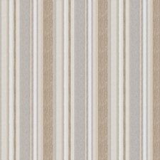 Creme Stripes Drapery and Upholstery Fabric by Fabricut