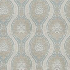 Seaspray Damask Drapery and Upholstery Fabric by Fabricut