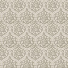 Gray Damask Drapery and Upholstery Fabric by Vervain