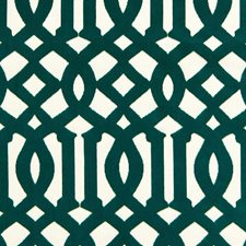 Peacock Drapery and Upholstery Fabric by Schumacher