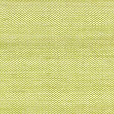Lime/Ivory Drapery and Upholstery Fabric by Schumacher