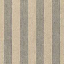 Steel/Linen Drapery and Upholstery Fabric by Schumacher