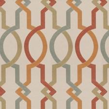 Multi Geometric Drapery and Upholstery Fabric by Fabricut