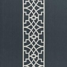 Bleu Marine Drapery and Upholstery Fabric by Schumacher