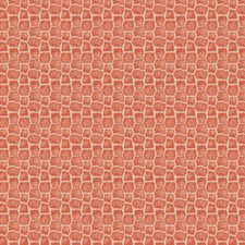 Coral Animal Drapery and Upholstery Fabric by Fabricut