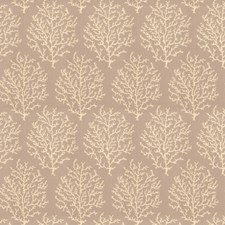 Ash Brown Leaves Drapery and Upholstery Fabric by Stroheim