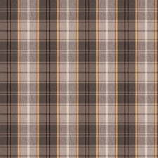 Charcoal Check Drapery and Upholstery Fabric by Trend