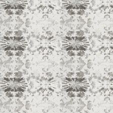 Black Smoke Print Pattern Drapery and Upholstery Fabric by S. Harris