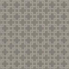 Fog Geometric Drapery and Upholstery Fabric by Fabricut