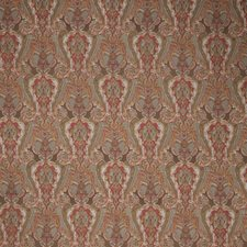Winter Red Paisley Drapery and Upholstery Fabric by Stroheim