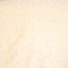 Ivory Paisley Drapery and Upholstery Fabric by Trend