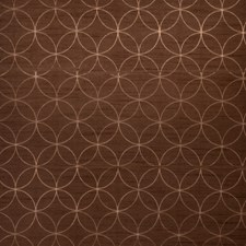 Chocolate Lattice Drapery and Upholstery Fabric by Trend
