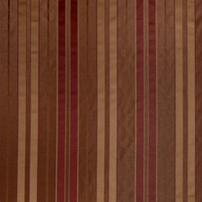 Rust Stripes Drapery and Upholstery Fabric by Trend
