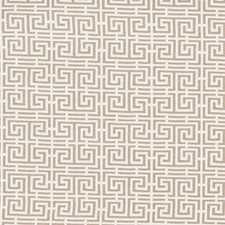 Natural/Ivory Drapery and Upholstery Fabric by Schumacher