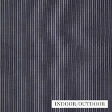 Navy/Ivory Drapery and Upholstery Fabric by Schumacher