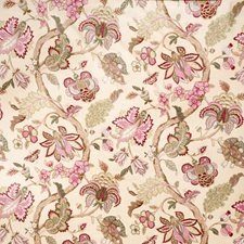 Lavender Jacobean Drapery and Upholstery Fabric by Trend
