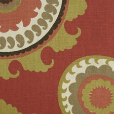 Russett Dots Drapery and Upholstery Fabric by Duralee