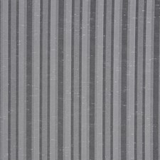 Pewter-Jcp Stripes Drapery and Upholstery Fabric by Trend