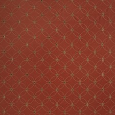 Persimmon Embroidery Drapery and Upholstery Fabric by Trend