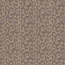 Copper Jacquard Pattern Drapery and Upholstery Fabric by Trend
