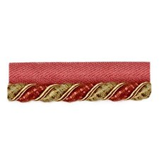 Cord Red/Sage Trim by Duralee