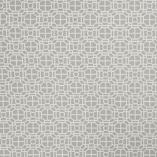 Dove Gray Geometric Drapery and Upholstery Fabric by Trend