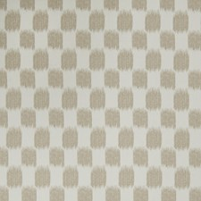 Oatmeal Flamestitch Drapery and Upholstery Fabric by Trend