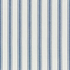 Prussian Blue Drapery and Upholstery Fabric by Schumacher