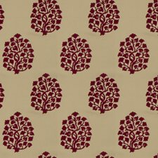 Punch Leaves Drapery and Upholstery Fabric by Trend