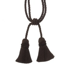 Tie Back Mahogany Trim by Duralee
