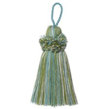 Key Tassel Aqua/Green Trim by Duralee