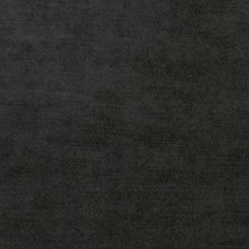 Jet Black Solid Drapery and Upholstery Fabric by Stroheim