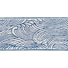 Blue Trim by Schumacher